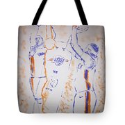 Carmelo Anthony Tote Bag
