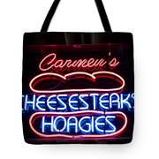 Carmens Cheesesteaks Tote Bag