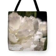 Carnation Blooms Tote Bag
