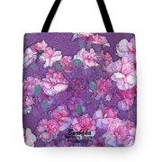 Carnation Inspired Art Tote Bag