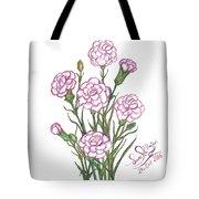 Carnation Pink Tote Bag