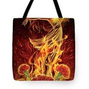 Carnation - Rebirth Tote Bag