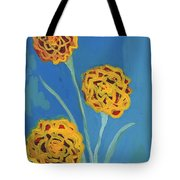 Carnations Against A Summer Sky Tote Bag