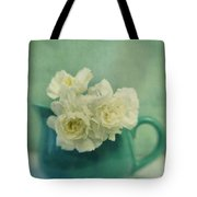 Carnations In A Jar Tote Bag