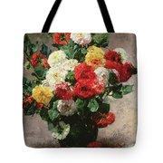 Carnations In A Vase Tote Bag