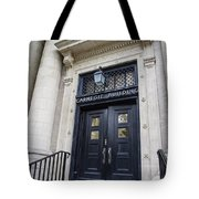 Carnegie Building Penn State  Tote Bag