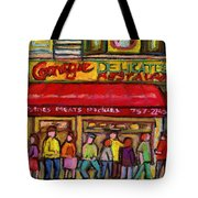 Carnegie's Deli Tote Bag