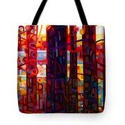 Carnelian Morning Tote Bag by Mandy Budan