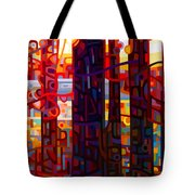 Carnelian Morning Tote Bag