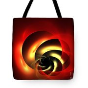 Carnelian Spiral Tote Bag