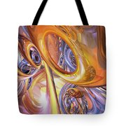 Carnival Abstract Tote Bag