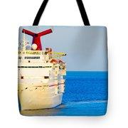 Carnival Cruise Ship Tote Bag