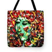 Carnival Girl Tote Bag