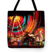 Carnival In Motion Tote Bag