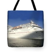 Carnival Inspiration Cruise Ship Tote Bag