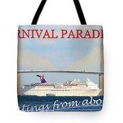 Carnival Paradise Custom Pc One Tote Bag
