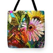 Carnivale Flori Tote Bag