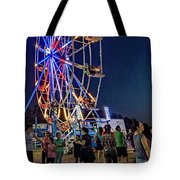 Carny Night 6 Tote Bag