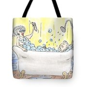 Carol And Kenny Tote Bag