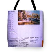 Carole Spandau Listed In Magazin'art Biennial Guide To Canadian Artists In Galleries 2002-2003 Edit Tote Bag