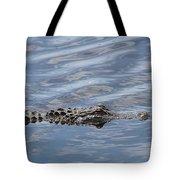 Carolina Beach Marina Alligator Tote Bag