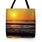 Carolina Beach Sunrise Tote Bag