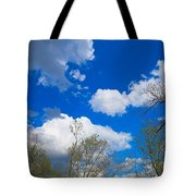 Carolina Blue Sky After The Rain Tote Bag