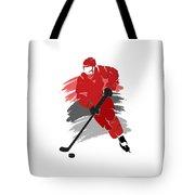 Carolina Hurricanes Player Shirt Tote Bag