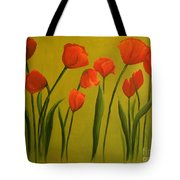 Carolina Tulips Tote Bag