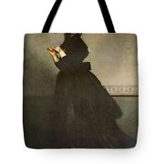 Carolus Duran Lady With A Glove Tote Bag