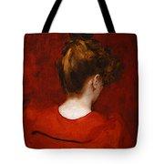 Carolus Duran Study Of Lilia Tote Bag