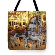 Carosel Horse Tote Bag