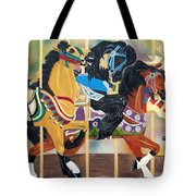 Carousel Beauties Tote Bag