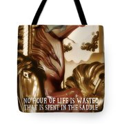 Carousel Color Quote Tote Bag