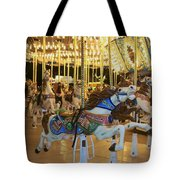 Carousel Horse 3 Tote Bag