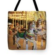 Carousel Horse 4 Tote Bag