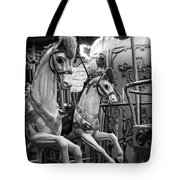 Carousel Horses No. 1 Tote Bag