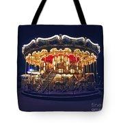 Carousel In Paris Tote Bag