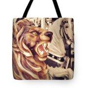 Carousel King Tote Bag