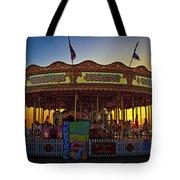 Carousel Sunset Tote Bag