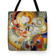 Carousel With Pigs Tote Bag