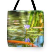 Carp And Lily Tote Bag