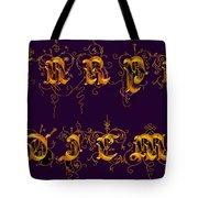 Carpediem Redgold Tote Bag