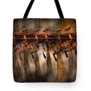 Carpenter  - Saws And Braces  Tote Bag