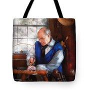 Carpenter - The Woodturner Tote Bag