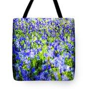 Carpet Of Blue Tote Bag