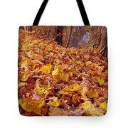 Carpet Of Fall Leaves Tote Bag