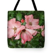 Carpet Roses Tote Bag