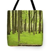 Carpeted Forest Tote Bag