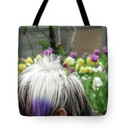 Carpeting Matches Drapes Tote Bag